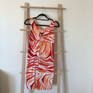 Tommy Bahama Orange Print Dress